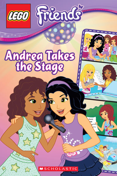 LEGO Friends: Andrea Takes the Stage (Comic Reader...