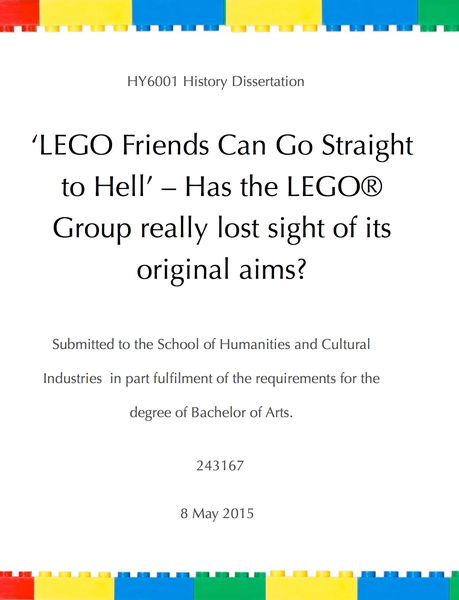'LEGO Friends Can Go Straight to Hell' – Has the L...