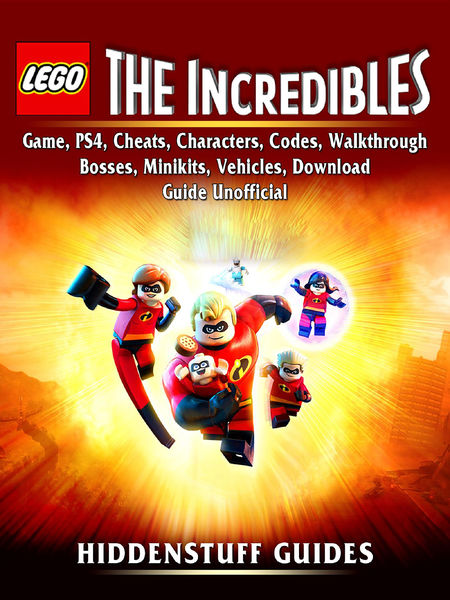 Lego The Incredibles Game, PS4, Cheats, Characters...