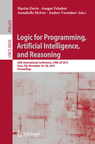Logic for Programming, Artificial Intelligence, an...
