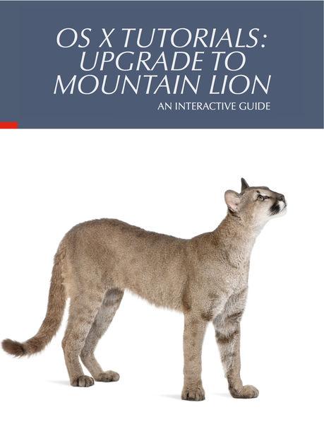 OS X Tutorials: Upgrade to Mountain Lion