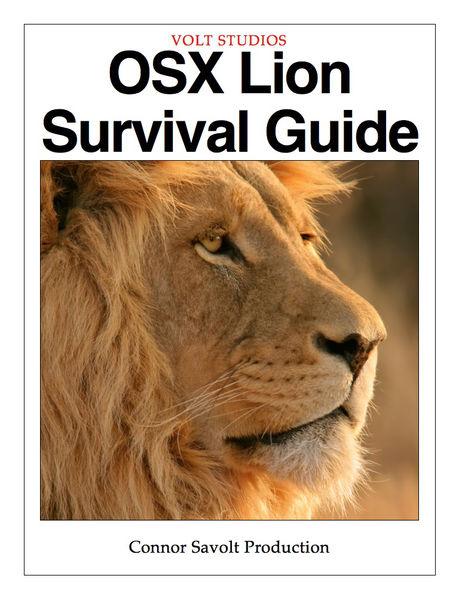 OSX Lion Survival Guide
