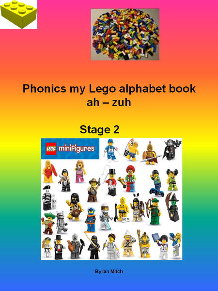 Phonics my Lego Alphabet Book
