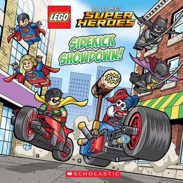 Sidekick Showdown! (LEGO DC Comics Super Heroes: 8...