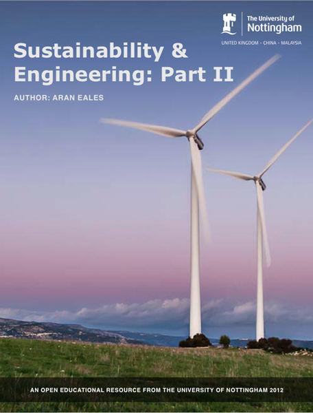 Sustainability & Engineering Part II