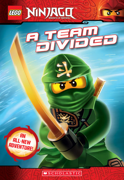 Team Divided (LEGO Ninjago: Chapter Book)