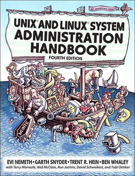 Unix and Linux System Administration Handbook, 4/e