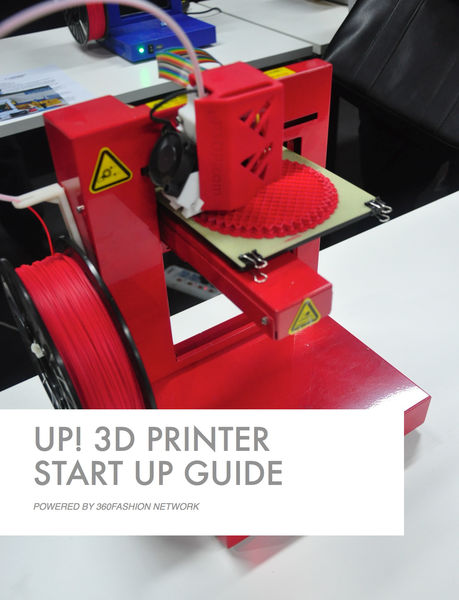 Up! 3D Printer  Start up Guide
