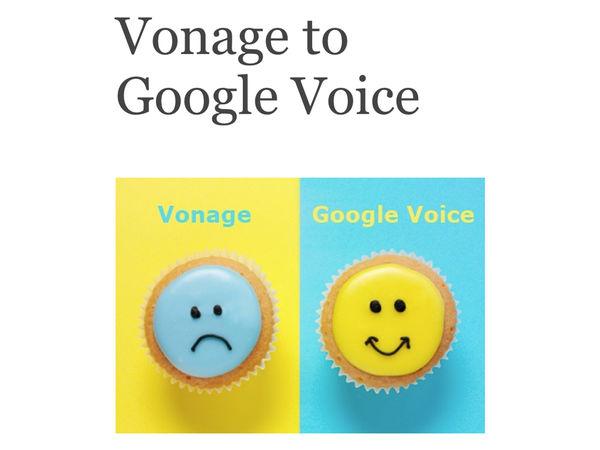 Vonage to Google Voice