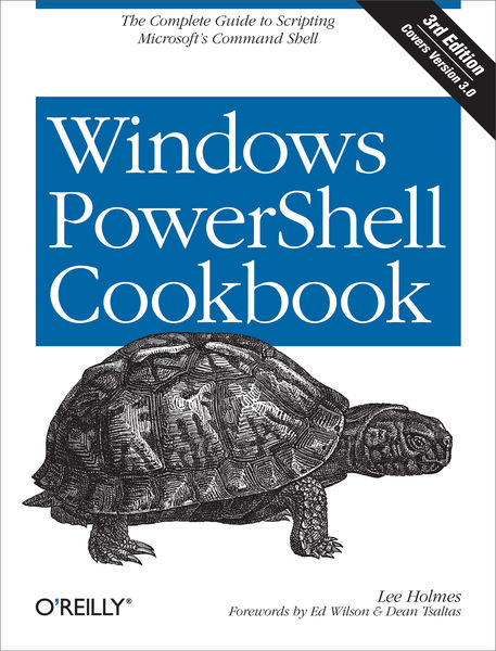 Windows PowerShell Cookbook