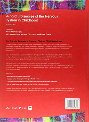 Aicardi's Diseases of the Nervous System in Childhood (Clinics in Developmental Medicine)