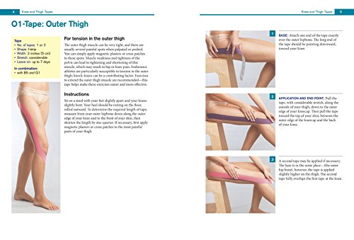 Kinesiology Taping The Essential Step-By-Step Guide: Taping for Sports, Fitness and Daily Life  - 160 Conditions and Ailments