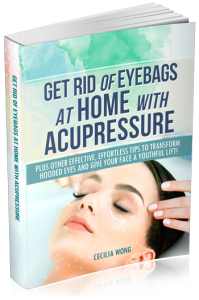 How you can get rid of eye bags with Acupressure