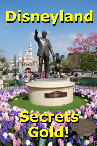 """Disneyland Secrets Gold"""