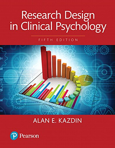 Research Design in Clinical Psychology -- Books a la Carte (5th Edition)