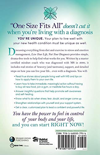 Live Your Life, Not Your Diagnosis: How to Manage Stress and Live Well with Your New Health Condition