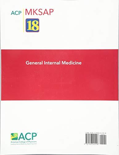 MKSAP (R) 18 General Internal Medicine