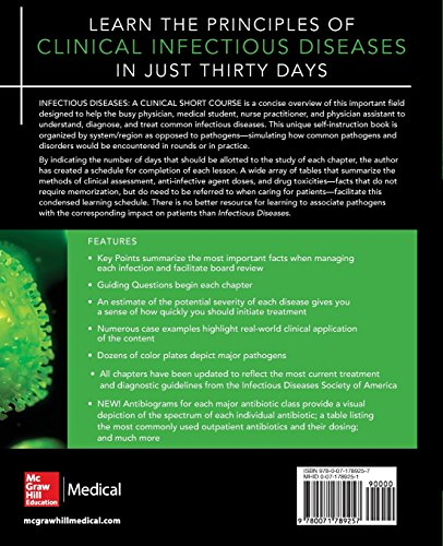 Infectious Diseases A Clinical Short Course 3/E (In Thirty Days Series)