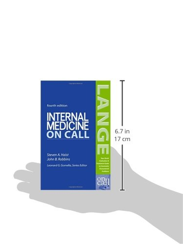 Internal Medicine On Call (LANGE On Call)