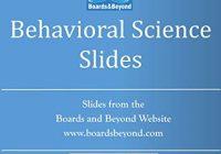 Boards and Beyond Behavioral Science Slides (Boards and Beyond Black and White Slides)