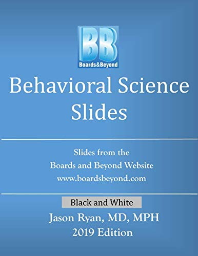 Boards and Beyond Behavioral Science Slides (Boards and Beyond Black and White Slides)