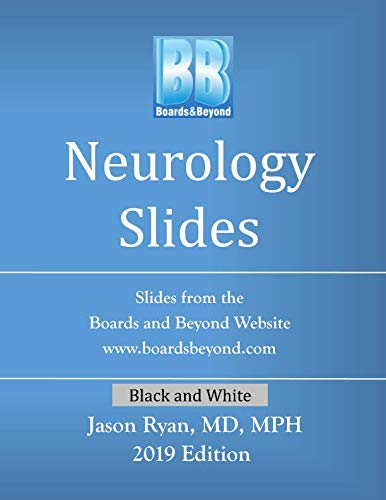 Boards and Beyond Neurology Slides (Boards and Beyond Black and White Slides)
