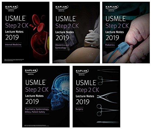 USMLE Step 2 CK Lecture Notes 2019: 5-book set (Kaplan Test Prep)