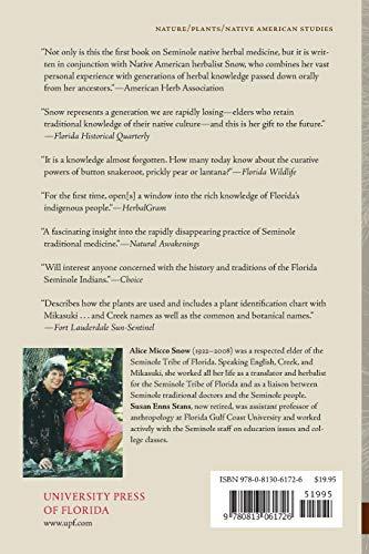 Healing Plants: Medicine of the Florida Seminole Indians