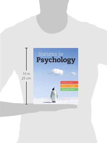 Statistics for Psychology, 6th Edition