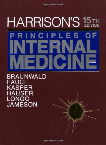 Harrison's Principles of Internal Medicine, 15th Edition
