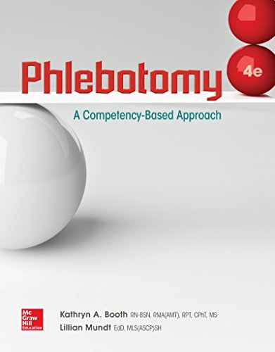 Phlebotomy: A Competency Based Approach