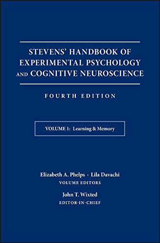 Stevens' Handbook of Experimental Psychology and Cognitive Neuroscience, Learning and Memory (Volume 1)