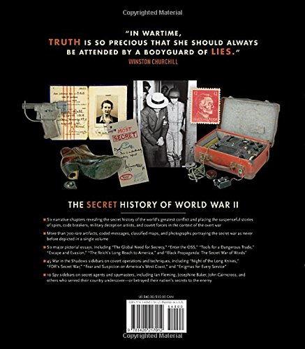 The Secret History of World War II: Spies, Code Breakers, and Covert Operations