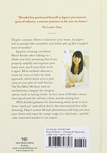 The Life-Changing Magic of Tidying Up: The Japanese Art of Decluttering and Orga...