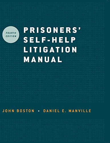 Prisoners' Self-Help Litigation Manual
